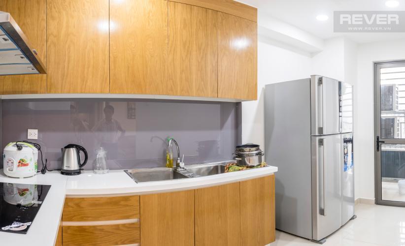 Phòng Bếp Bán căn hộ RiverGate Residence, tầng trung, tháp B, đầy đủ nội thất