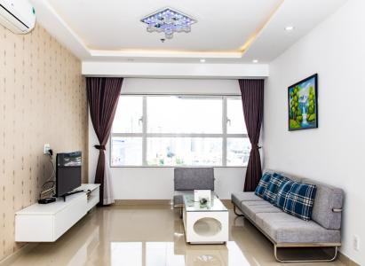 Cho thuê căn hộ Sunrise City 1PN, tháp X2 Khu North, hướng Đông, đầy đủ nội thất