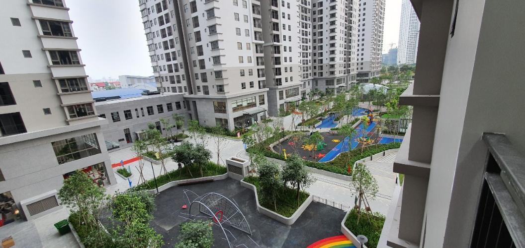 View căn hộ Saigon South Residence nhìn từ phòng khách Bán căn hộ Saigon South Residence tầng thấp, diện tích 71m2, 2 phòng ngủ, 2 phòng tắm thiết kế sang trọng