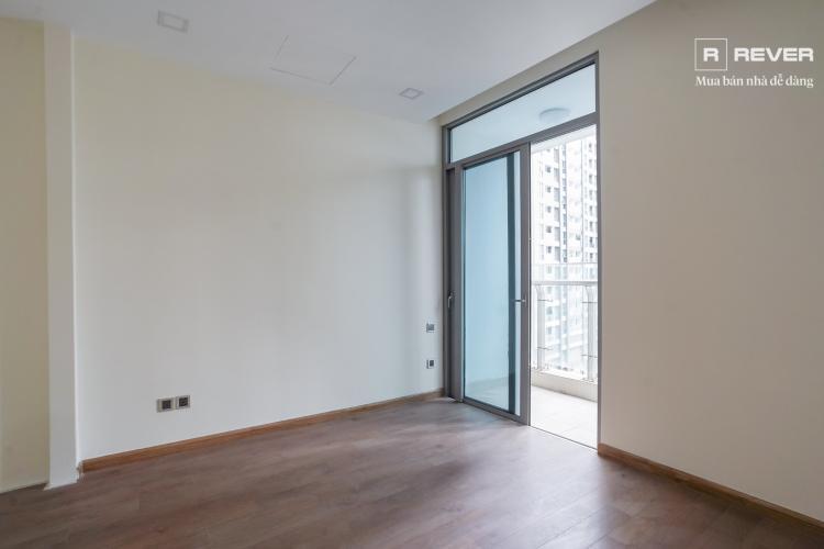 Phòng ngủ căn hộ VINHOMES CENTRAL PARK Bán căn hộ Vinhomes Central Park 1PN, đầy đủ nội thất, ban công Đông Nam