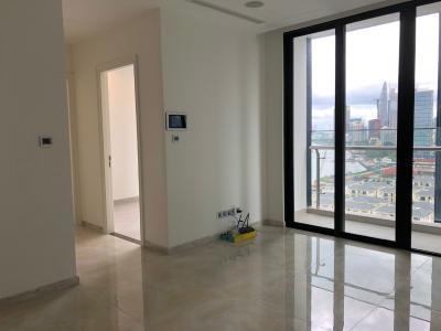 Bán căn hộ Vinhomes Golden River 2PN, tháp The Aqua 1, nội thất cơ bản, đang có hợp đồng cho thuê, view sông và Bitexco