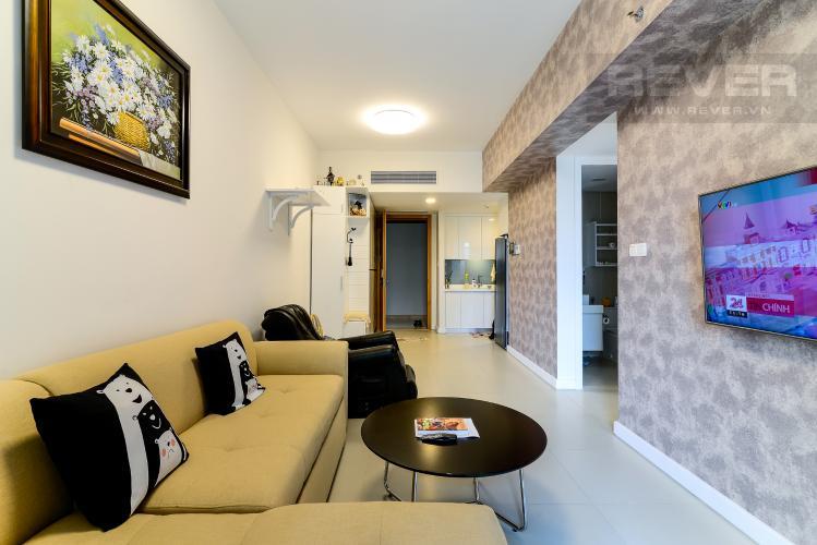 Phòng Khách Bán hoặc cho thuê căn hộ Gateway Thảo Điền 1 phòng ngủ, diện tích 59m2, đầy đủ nội thất, view công viên nội khu