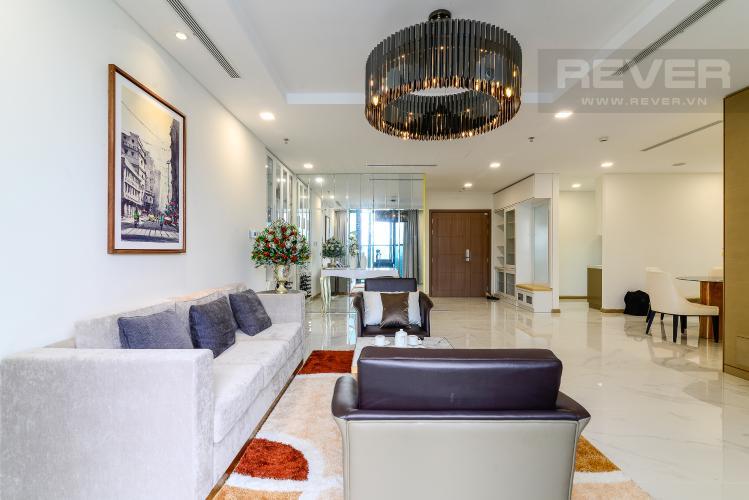 Phòng Khách Bán căn hộ Vinhomes Central Park 3PN, tầng cao, đầy đủ nội thất, thuộc tháp Landmark 81
