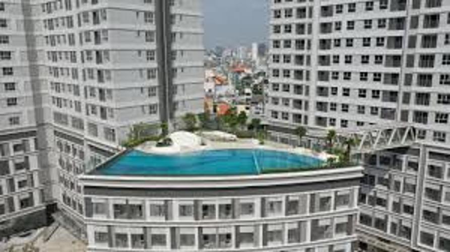 Sunrise Cityview, Quận 7 Office-tel Sunrise City View tầng thấp, view hồ bơi.