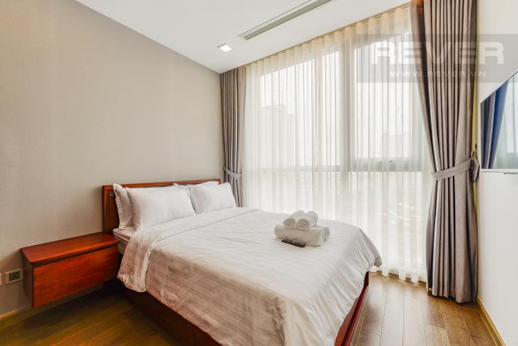 Phòng ngủ 2 Căn hộ Vinhomes Central Park 2 phòng ngủ tầng trung P7 nội thất đầy đủ
