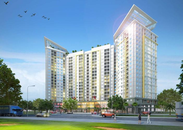 phối cảnh dự án Centum Wealth Bán căn hộ Centum Wealth, nội thất cơ bản, diện tích 82.5m2