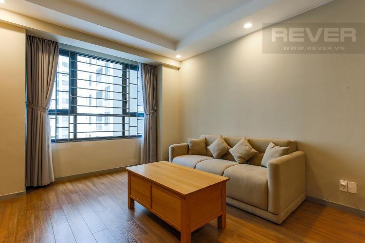 Phòng Khách Căn hộ The Gold View tầng thấp tòa A2 diện tích 70m2 full nội thất