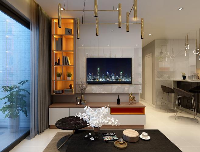 Căn hộ Phú Mỹ Hưng Midtown tầng cao, view sông và thành phố mát mẻ.