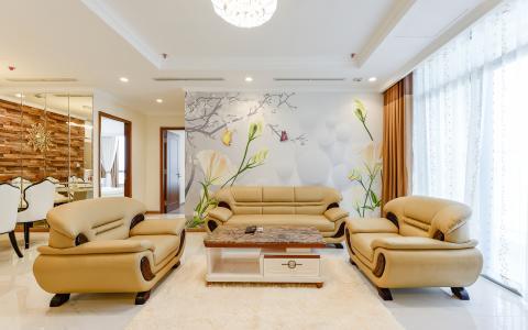 Căn hộ 3 phòng ngủ tiện nghi, đẳng cấp tại The Central 1, Vinhomes Central Park