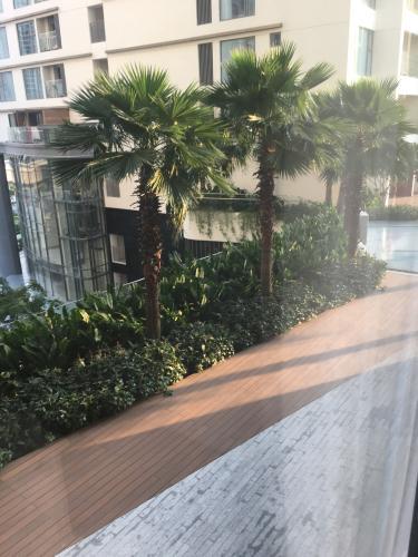 view cảnh căn hộ Gateway Thảo Điền Căn hộ Gateway Thảo Điền đầy đủ nội thất, view nội khu.