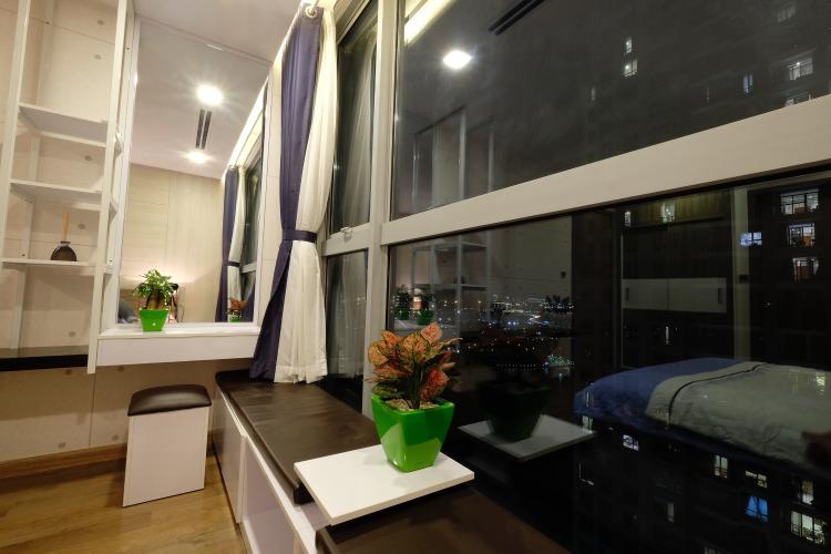 Phòng ngủ căn hộ Vinhomes Central Park Bán căn hộ Vinhomes Central Park 3PN, diện tích 116m2, đầy đủ nội thất, hướng ban công Tây Nam