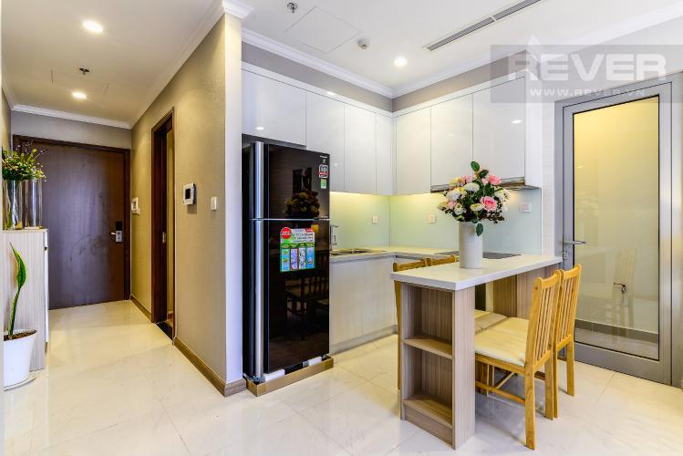 Nhà Bếp Căn hộ Vinhomes Central Park 2 phòng ngủ tầng cao L1 hướng Nam