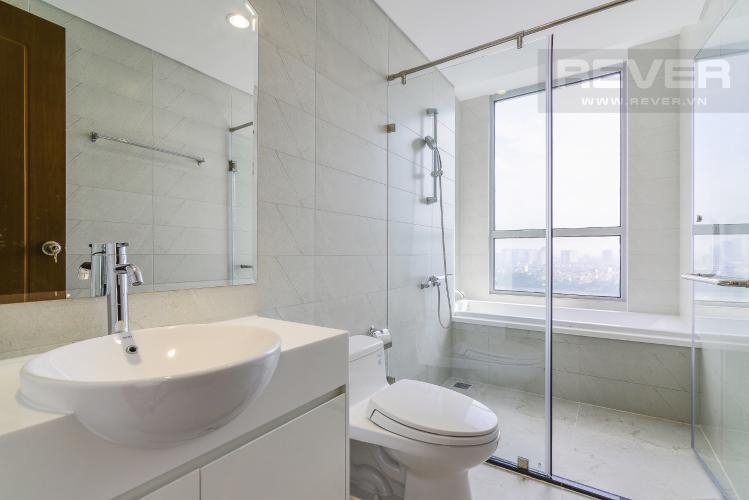 Phòng Tắm 2 Căn hộ Vinhomes Central Park 4 phòng ngủ tầng trung L1 view sông