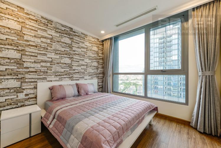 Phòng ngủ 4 Căn hộ Vinhomes Central Park tầng trung, tòa Landmark 6, 4 phòng ngủ, full nội thất