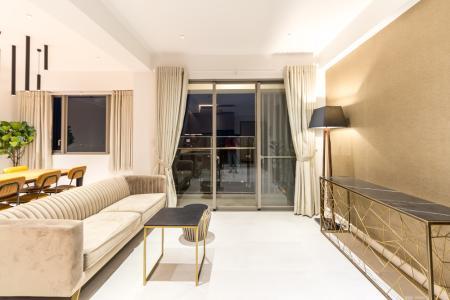 Bán căn hộ Happy Residence 3PN, block A, diện tích 97m2, đầy đủ nội thất, view thoáng