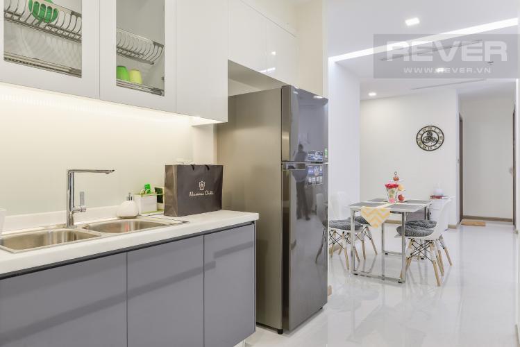 Bếp Căn hộ Vinhomes Central Park 2 phòng ngủ tầng thấp Park 4
