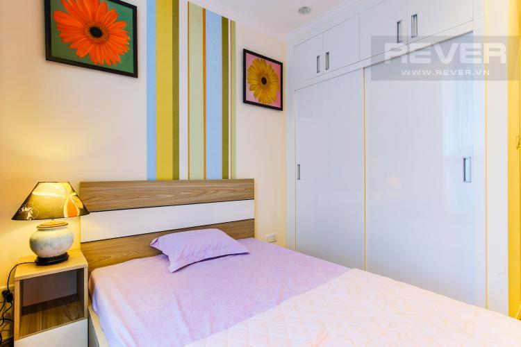 Phòng Ngủ 1 Căn hộ Vinhomes Central Park tầng cao Central 2 thiết kế hiện đại, trẻ trung
