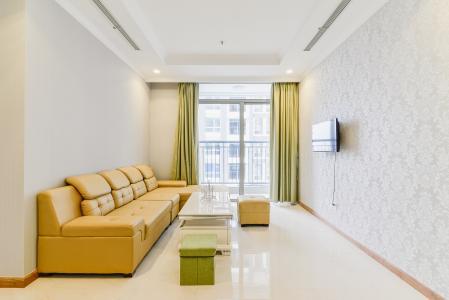 Căn hộ Vinhomes Central Park tầng trung L3, 2 phòng ngủ, đầy đủ nội thất