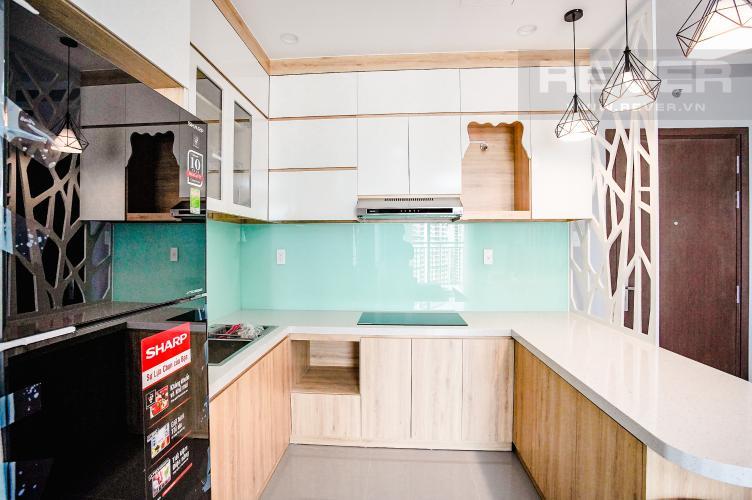 Phòng Bếp Bán hoặc cho thuê căn hộ Sunrise Riverside 3PN, tầng trung, đầy đủ nội thất, view sông Rạch Dĩa
