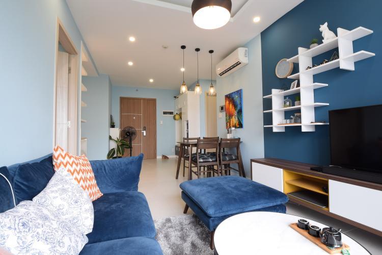 Cho thuê căn hộ New City Thủ Thiêm tầng thấp, 2PN, đầy đủ nội thất