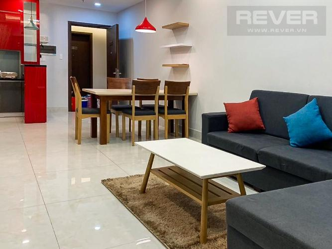 Cho thuê căn hộ Wilton Tower Bình Thạnh, 3 phòng ngủ, tầng cao, diện tích 91m2, đầy đủ nội thất