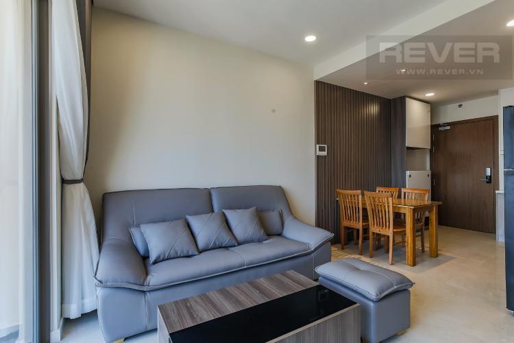 Phòng Khách Căn hộ Masteri Millennium tầng cao, block B, 2PN nội thất đầy đủ