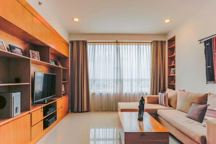 Căn hộ Sunrise City tầng trung V2 thiết kế 2 phòng ngủ hiện đại