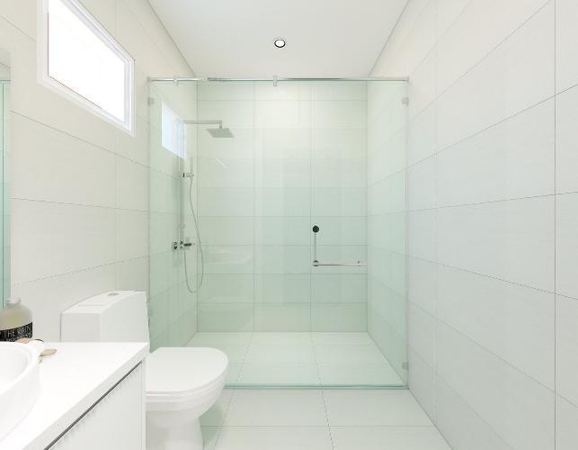 Phòng tắm Scenic Valley, Quận 7 Căn hộ tầng cao Scenic Valley view nội khu hồ bơi.