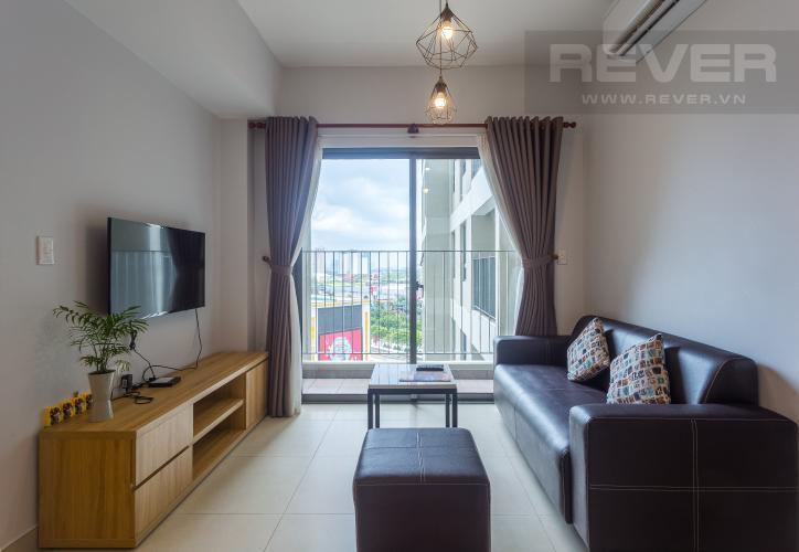 Phòng Khách Cho thuê căn hộ Masteri Thảo Điền tầng trung, 2PN, tháp T1, đầy đủ nội thất
