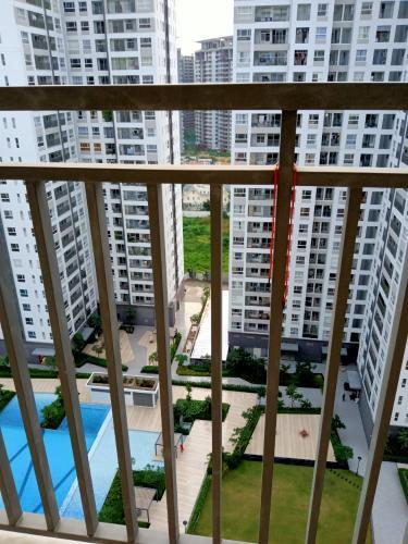 View ban công Sunrise Riverside, Nhà Bè Căn hộ tầng cao Sunrise Riverside đầy đủ nội thất, view nội khu.