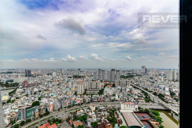 View Cho thuê căn hộ Vinhomes Golden River tầng cao 1PN đầy đủ nội thất