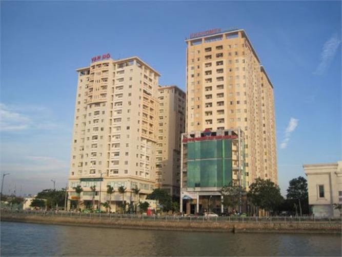 Tòa nhà chung cư Vạn Đô Quận 4 Căn hộ chung cư Vạn Đô tầng thấp, đầy đủ nội thất.