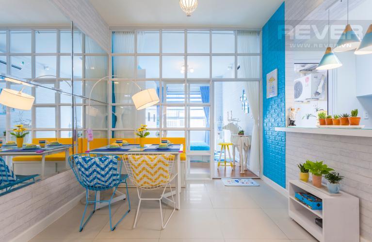 Bàn ăn căn hộ LEXINGTON RESIDENCE Cho thuê căn hộ 1PN Lexington Residence, tầng trung, thiết kế trẻ trung, đầy đủ nội thất