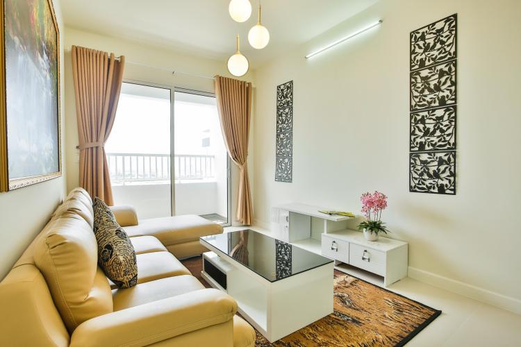 Nội thất phòng khách độc đáo căn hộ LEXINGTON RESIDENCE Bán hoặc cho thuê căn hộ Lexington Residence, tầng cao, đầy đủ nội thất, ban công hướng Đông