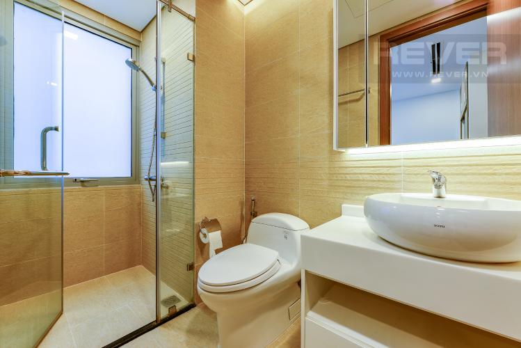 Phòng tắm 1 Căn hộ Vinhomes Central Park tháp 1, tầng trung, đầy đủ nội thất