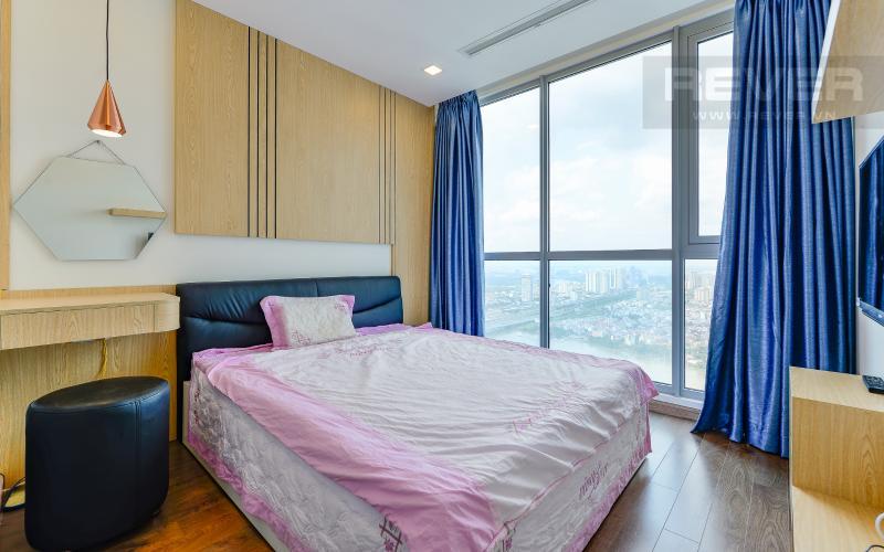 phòng ngủ 1 Căn hộ 2 phòng Vinhomes Central Park tại Park 6 tầng cao, tiện nghi và yên tĩnh
