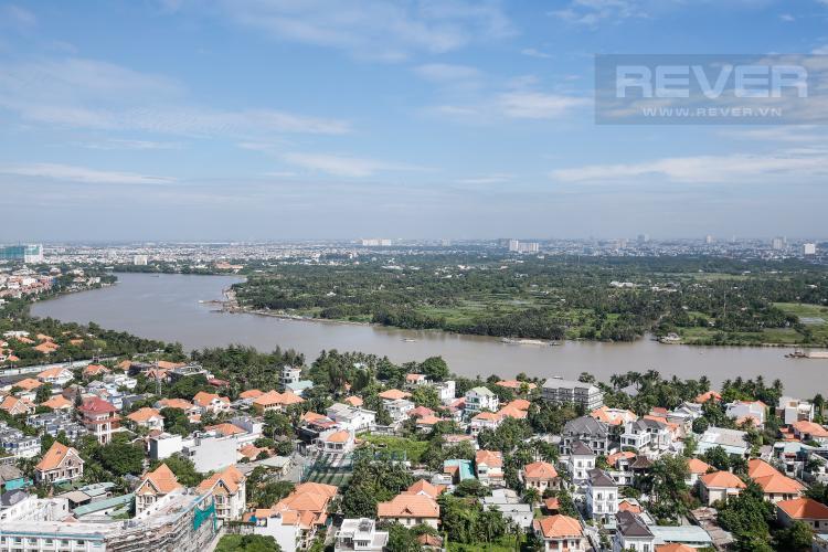 View Căn hộ Masteri Thảo Điền 3 phòng ngủ tầng cao T5 view trực diện sông
