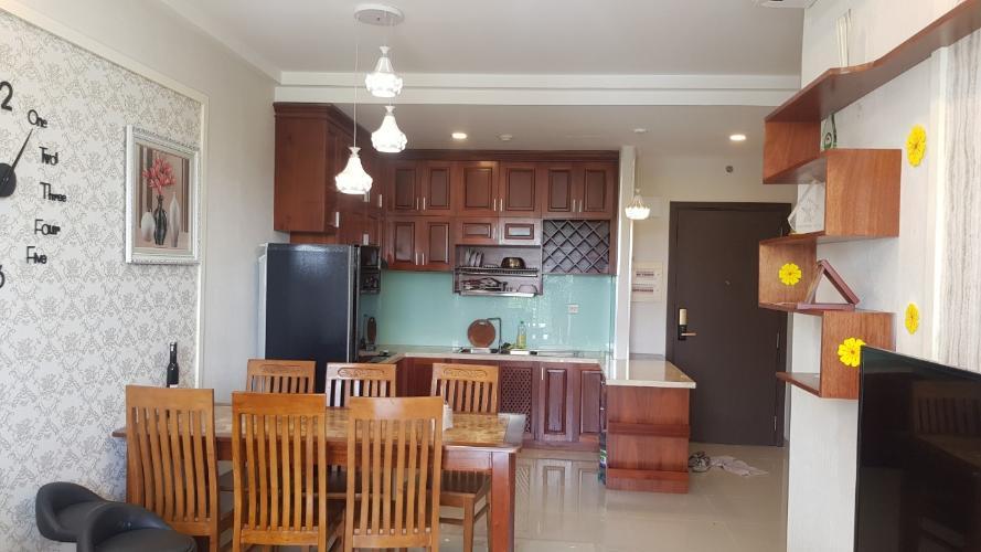 bếp  căn hộ Sunrise Riverside Bán căn hộ tầng thấp Sunrise Riverside đầy đủ nội thất.