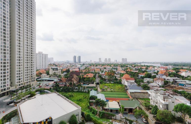 View ngoại cảnh nhìn từ căn hộ Căn hộ Masteri Thảo Điền 2 phòng ngủ tầng trung T3 nội thất đầy đủ