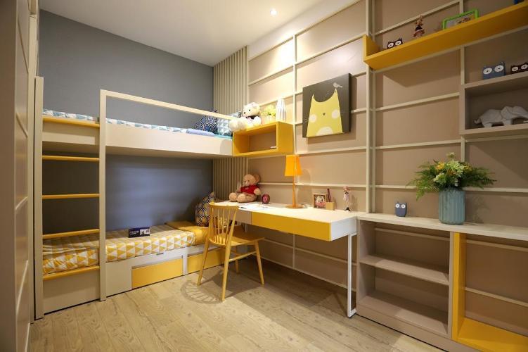 Nhà mẫu Akari City, Bình Tân Căn hộ Akari City tầng 5, bàn giao nội thất cơ bản, thiết kế hiện đại.