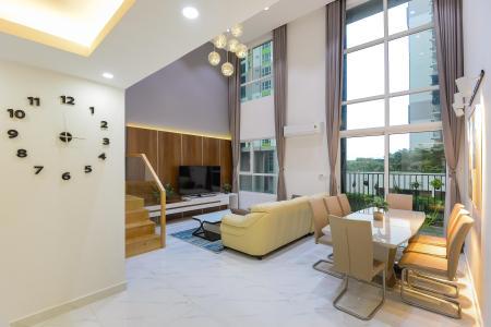 Bán căn hộ Vista Verde 2PN, tháp Orchid, diện tích 134m2, đầy đủ nội thất, có tầng lửng