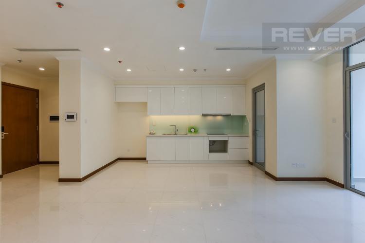 Phòng Bếp Căn hộ Vinhomes Central Park 3 phòng ngủ tầng thấp L5 view hồ bơi