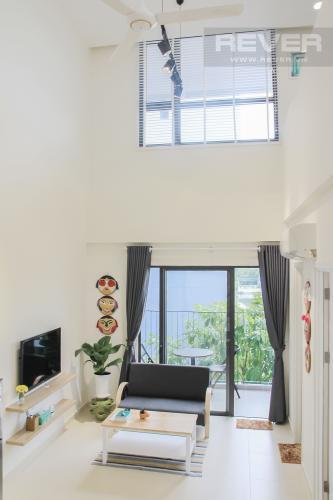 Tổng Quan Nhà Bán căn hộ M-One Nam Sài Gòn 2 phòng ngủ, đầy đủ nội thất, thiết kế ban công nhỏ xinh