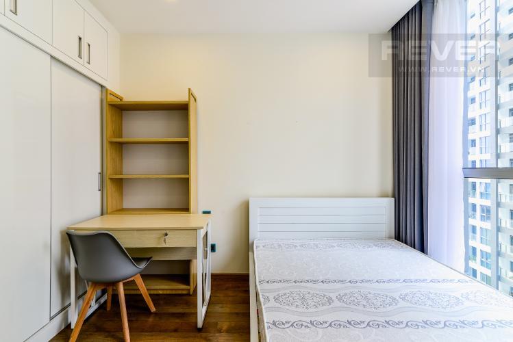 Phòng Ngủ 2 Căn hộ Vinhomes Central Park 2 phòng ngủ tầng cao P4 hướng Tây Nam