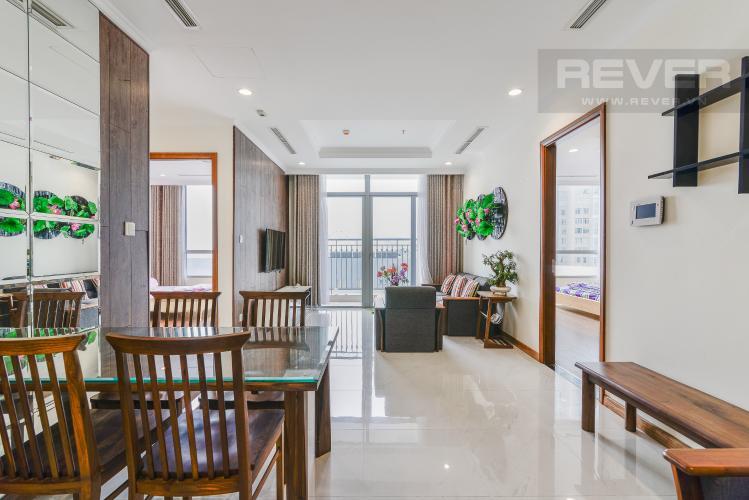 Tổng Quan Căn hộ Vinhomes Central Park 2 phòng ngủ tầng thấp C1 view sông