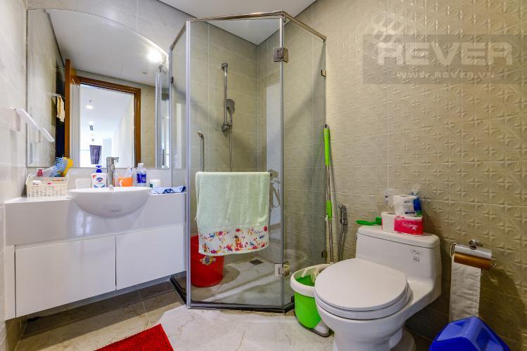 Phòng tắm 3 Bán căn hộ Vinhomes Central Park tầng cao, 4PN, đầy đủ nội thất, view đẹp