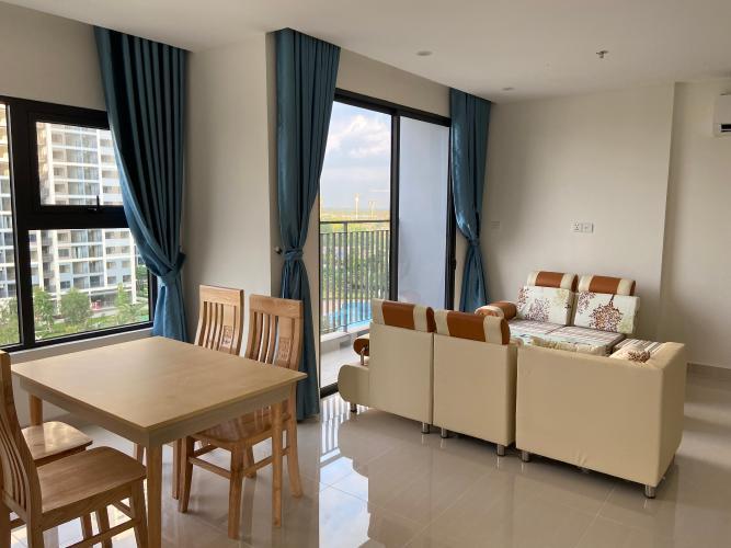 Phòng khách Vinhomes Grand Park Quận 9 Căn hộ Vinhomes Grand Park tầng thấp, nội thất tiện nghi hiện đại.