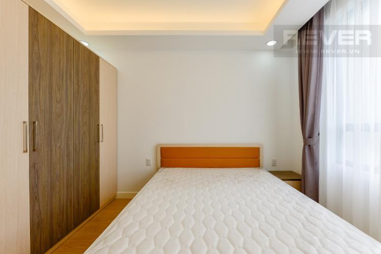 phòng ngủ 1 Căn hộ Masteri Thảo Điền tầng cao T1 view về sông và khu Thảo Điền