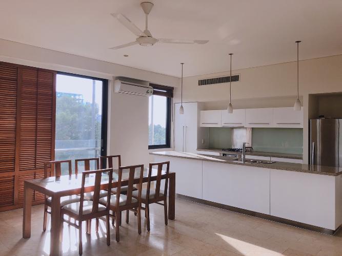 Phòng bếp Avalon Saigon Apartments, Quận 1 Căn hộ Avalon Saigon Apartments view cây xanh thoáng mát, 2 phòng ngủ.