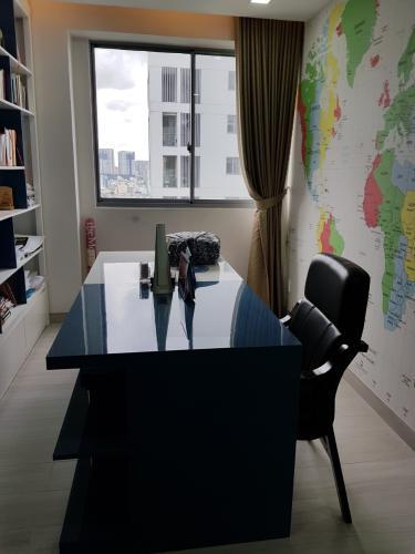 Phòng làm việc căn hộ Green Valley, Quận 7 Căn ộ Green Valley view nội khu yên tĩnh, tầng cao đón gió thoáng mát.